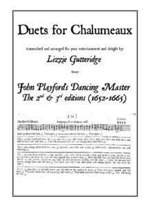 Chalumeau duet book